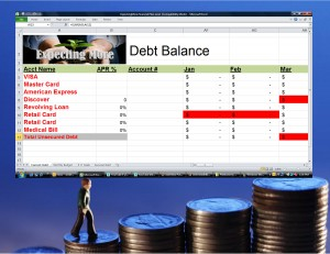 Debt Reduction Tracker